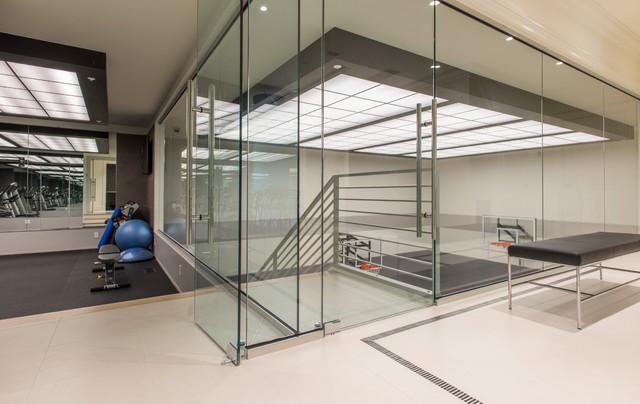Gym Sport Court Modern Home Gym Dc Metro By Palindrome Design Llc