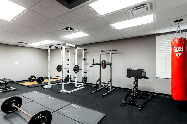 gym modern home gym orlando by zoltan construction llc. Black Bedroom Furniture Sets. Home Design Ideas