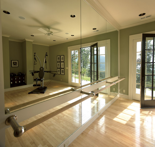 Home Gym Design Ideas: Ballet Barre?
