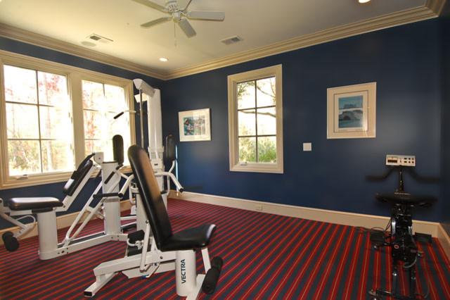 home gym traditional-home-gym