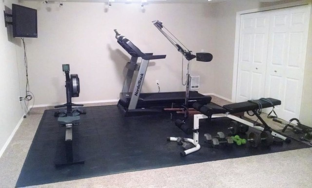 Home Gym Flooring Seattle