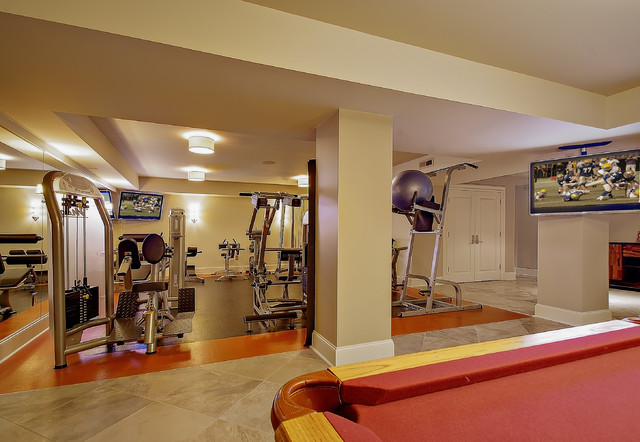 Home Gym contemporary-home-gym