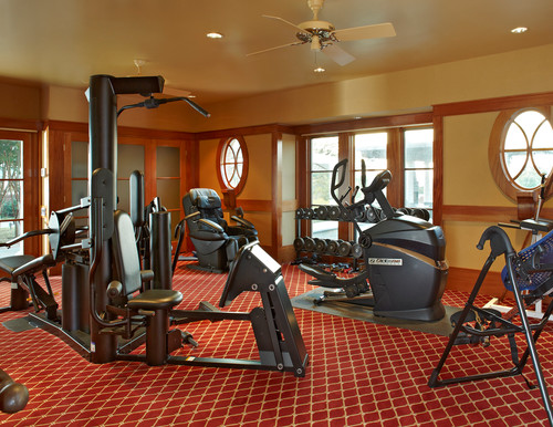 Classic Home Gym by Michael Lyons