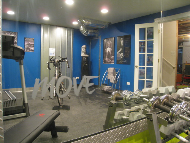 Home Gym Eclectic Home Gym Chicago By Your