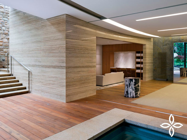 Home spa gym by indoteak design contemporary home for In home spa design