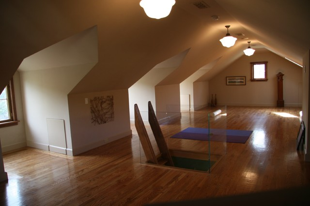 Homes By James Witt Contemporary Home Gym San