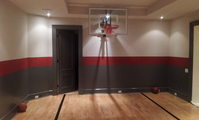 Indoor Basketball Court - Modern - Home Gym - Toronto - by Total ...
