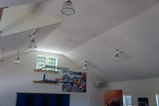 Indoor Basketball Court With Audio Video Installation