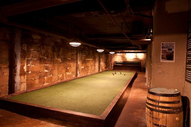 Indoor Bocce Court