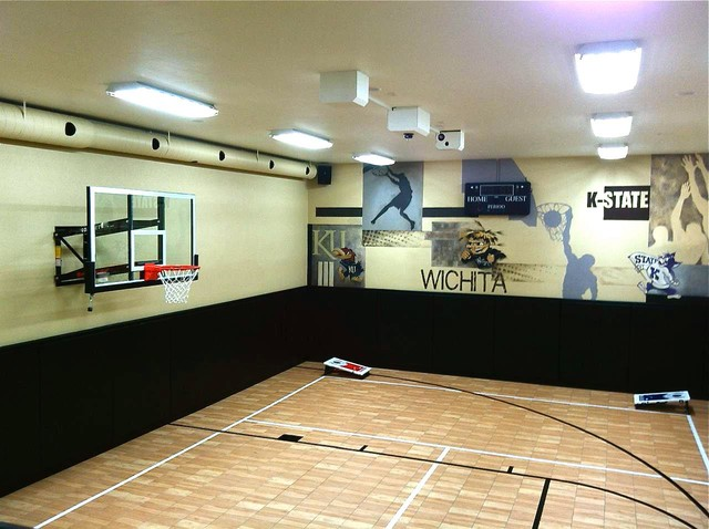 Indoor home court for all sports by snapsports Indoor basketball court ceiling height