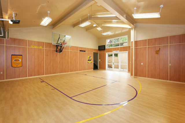 Indoor Sports - Contemporary - Home Gym - Orange County ...