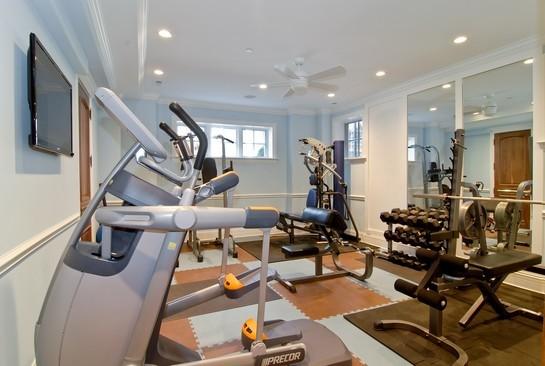 Janssen chicago for Luxury home gym