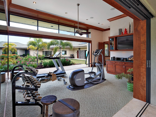 How To Organize A Home Gym Geralin Thomas Raleigh Nc