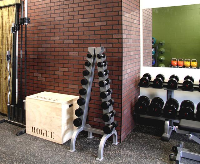 Kifi design build fitness studio contemporary home
