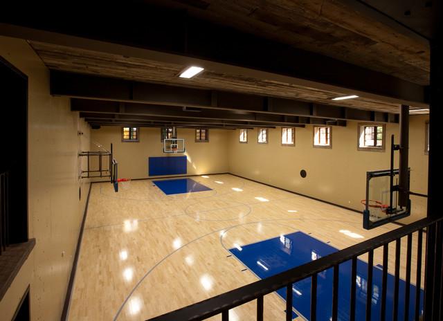 Lake Tahoe Dream Home Traditional Home Gym San