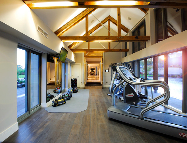 Link room gym at Gleneagles Private residence klassisk-hemmagym