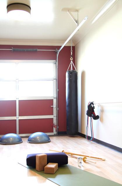 Live work studio yoga multiuse room contemporary