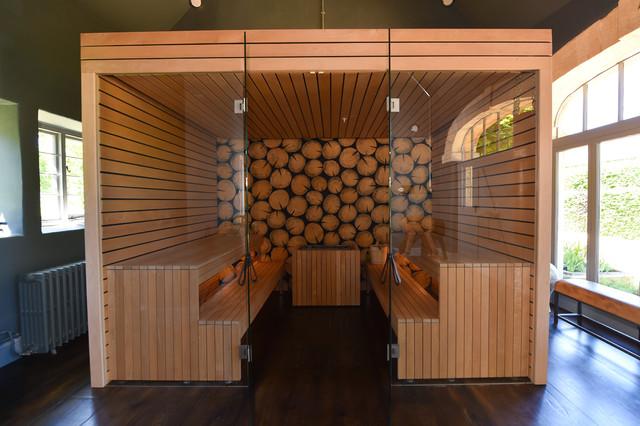 Log Roll Sauna