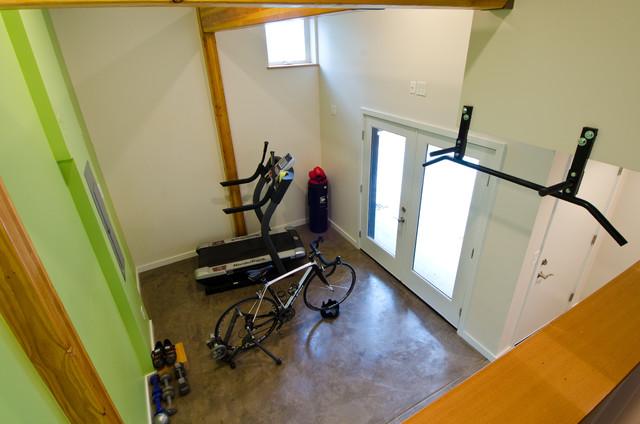 Madrona Residence modern-home-gym