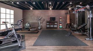 maple basement remodel  home gymmedfield massachusetts