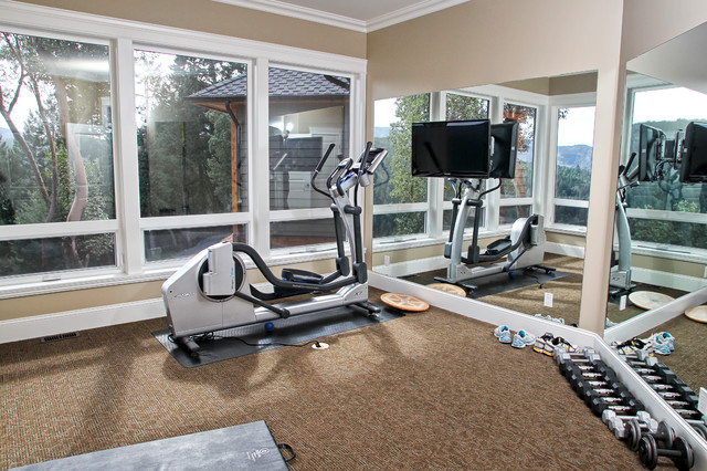 Maple bay view modern home gym other metro by the