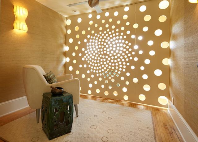 Meditation Space Design meditation room - contemporary - home gym - minneapolis -