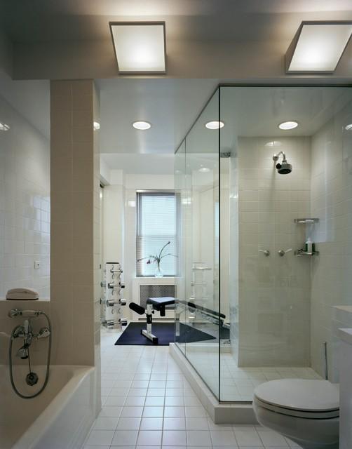 Modern Apartment New York - Modern - Home Gym - New York - by ...