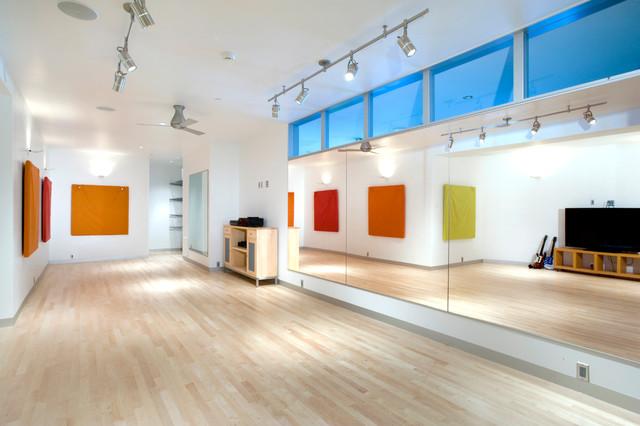 modern breckenridge 1 moderne salle de sport denver par allen guerra architecture. Black Bedroom Furniture Sets. Home Design Ideas