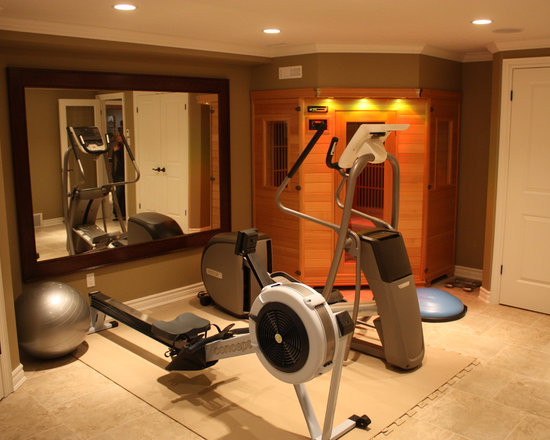 Toronto Gym Photos Design Ideas, Pictures, Remodel, and Decor