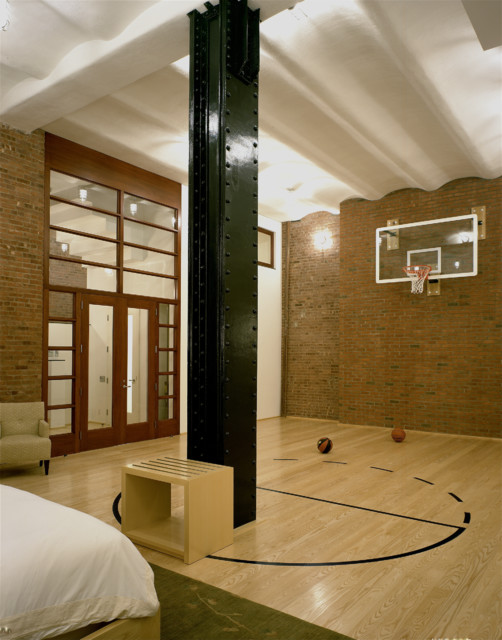 N. Moore contemporary-home-gym