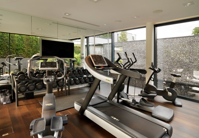 new build house berkshire contemporary home gym london by rh houzz com gym room in the house gym house marche en famenne
