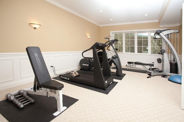 Oakley Home Builders contemporary-home-gym