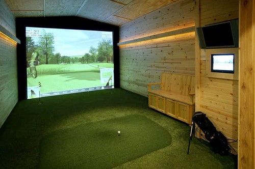 Love this for a man cave where can i find this golf for Bedroom remodel simulator