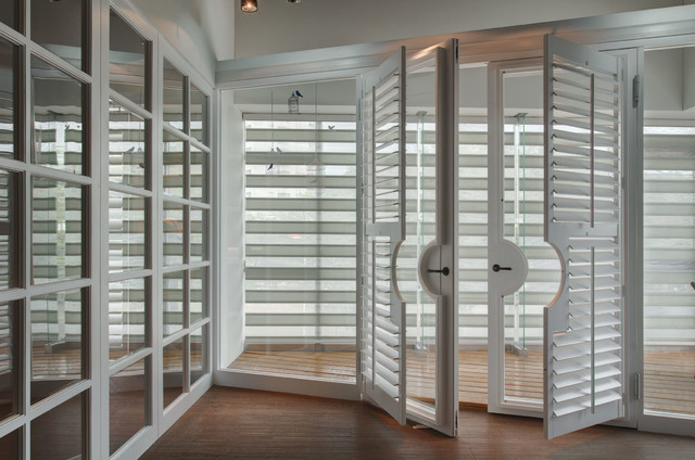 Plantation Shutters Amp Combi Roller Shades