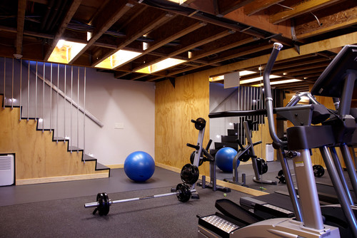 Home Gym, Port Washington Residence, Photo: houzz.com