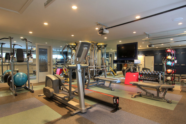 Private Residence Kelowna Bc Traditional Home Gym Vancouver By Design Evolution