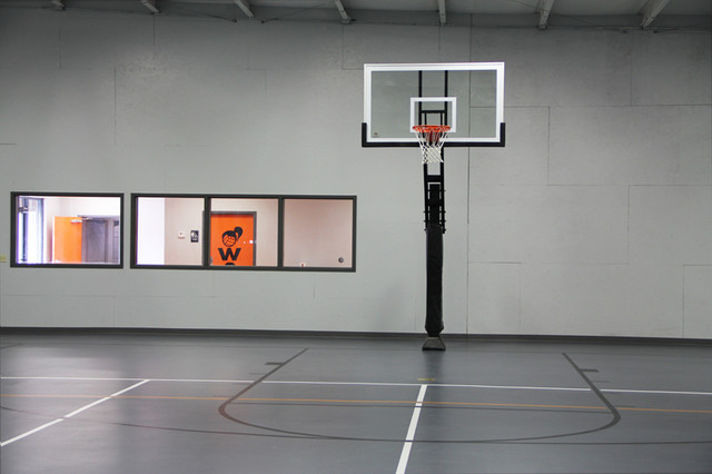 Pro Dunk Platinum Basketball System Traditional Home
