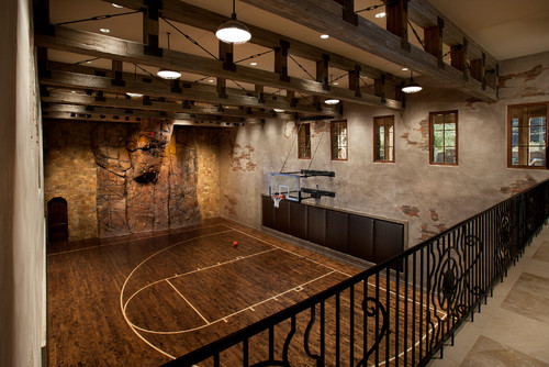 Gym dimensions Indoor basketball court ceiling height