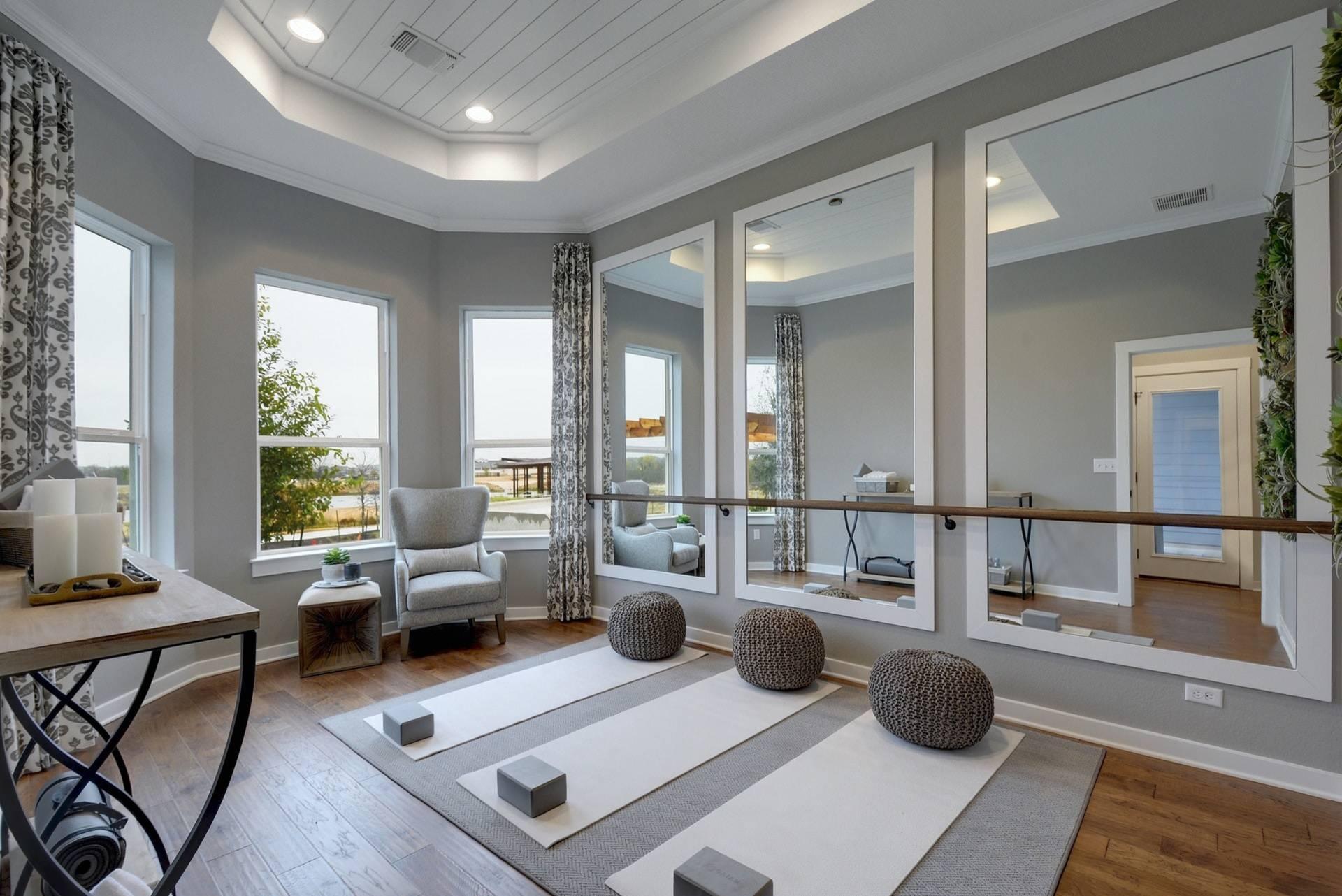 75 Beautiful Home Yoga Studio Pictures Ideas December 2020 Houzz