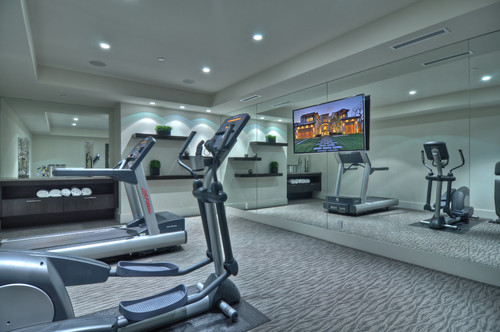 15 home gyms worth sweating in flooringinc blog