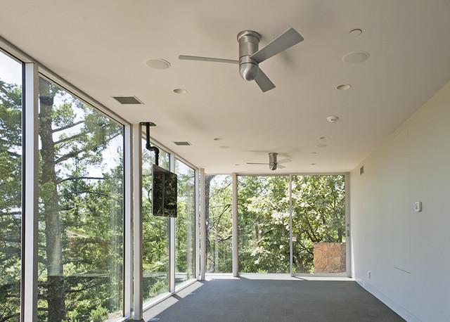 St. Helena - Exterior modern-home-gym