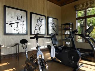 Fitnessraum modern  Street Of Dreams Home - Modern - Fitnessraum - Orlando - von ...