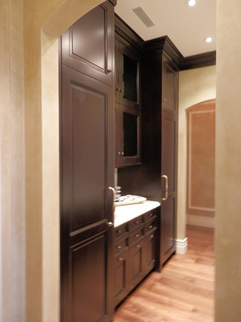 Summerlin remodel custom casework supplied - Traditional - Home Gym - las vegas - by Affirming ...