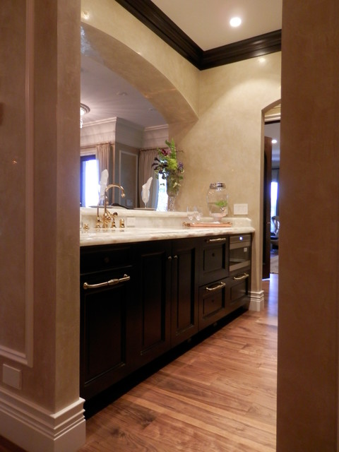 Summerlin remodel custom casework supplied traditional-home-gym