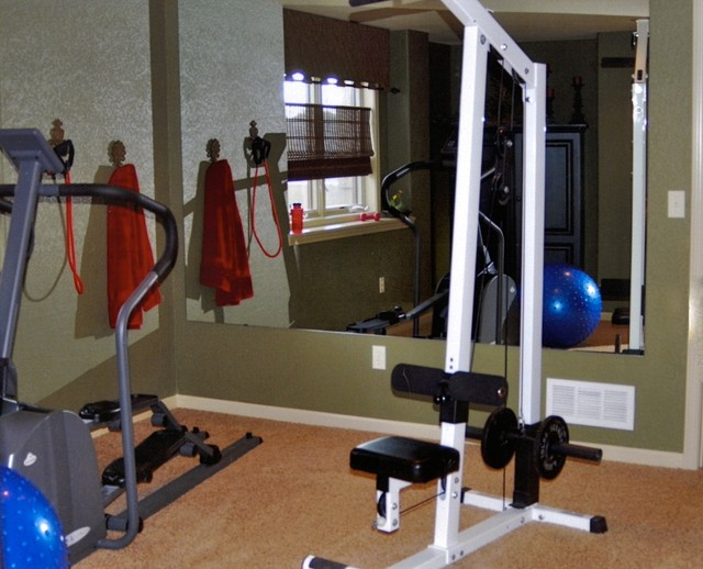The Bristol Ranch traditional-home-gym
