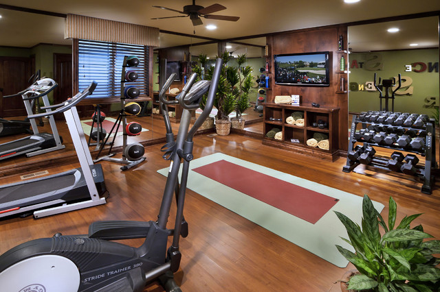 The overlook at heritage hills mediterranean home gym