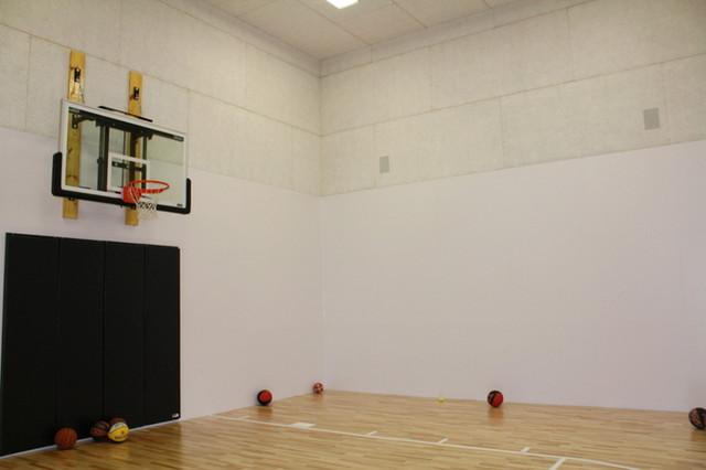 Total Home Control System contemporary-home-gym