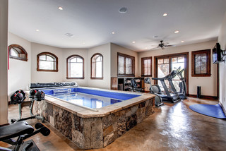 Traditional Home Gym traditional-home-gym