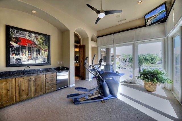Sonoran Transitional Home Gym Phoenix