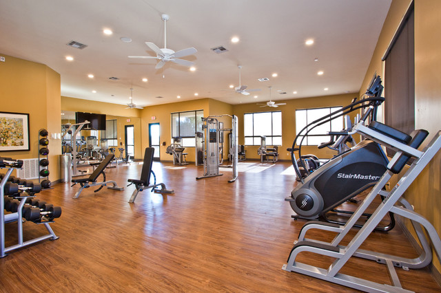 Vintage at the lakes fitness center contemporary home